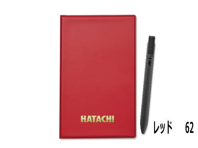 スコアカードケース レッド HATACHI (ハタチ) BH6154(62)