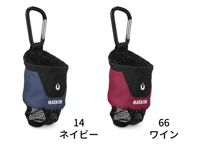 マグネットボールポーチ (ハタチ / BH7906 / グラウンド・ゴルフ パークゴルフポーチ)