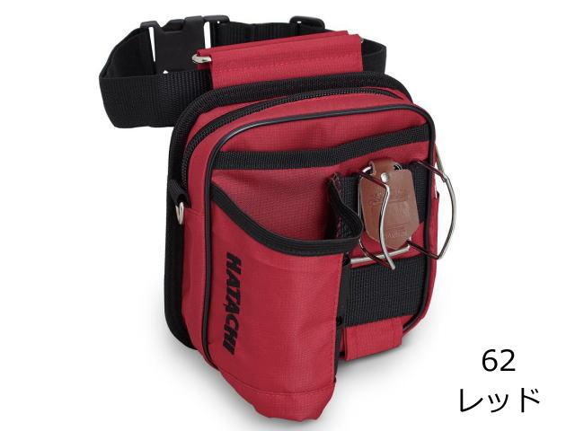 グラウンド・ゴルフ ドリンクポーチ レッド ハタチ BH7931