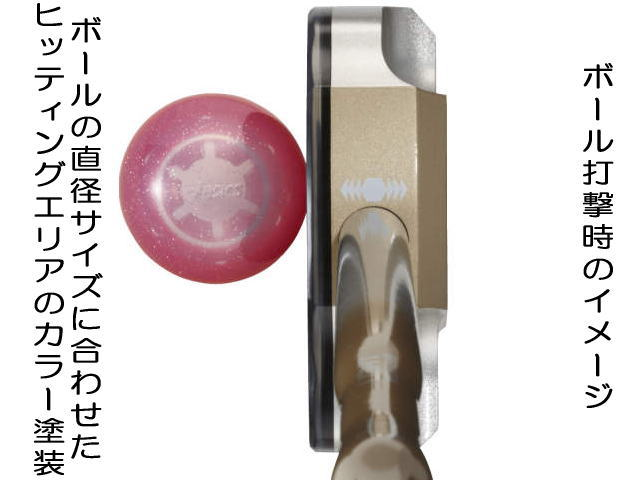 ライトウエイトクラブ GGG188 打撃イメージ